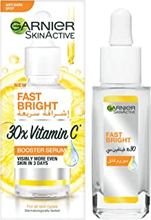 Garnier SkinActive Fast Bright 30x VITAMIN C Anti Dark Spot Serum, 30 ml