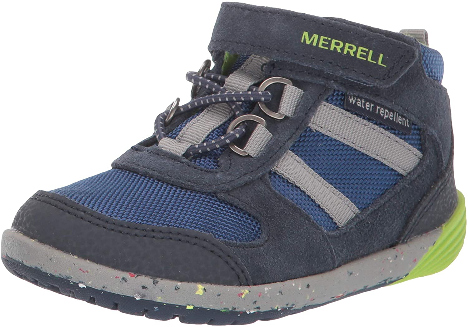 Merrell Ranking TOP11 Unisex-Child Manufacturer direct delivery Bare Steps Ridge Boot Hiking