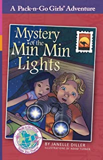 Mystery of the Min Min Lights: Australia 1 (Pack-n-Go Girls Adventures)
