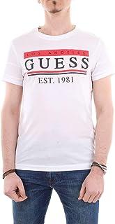 GUESS Mens Cn Ss 81 Stripes Tee T-Shirts