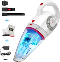 GeeMo Handheld Vacuum Cleaner 8500PA Wet Dry Powerful Cyclonic Suction Lightweight Quick..