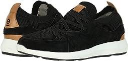 Black Suede/Knitting Upper