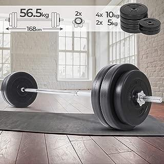 Negro Flexible oscilante Varilla para Entrenamiento Relaxdays/ /Swingstick 158/cm Toning Bar de vibraci/ón para Profundidad Musculatura