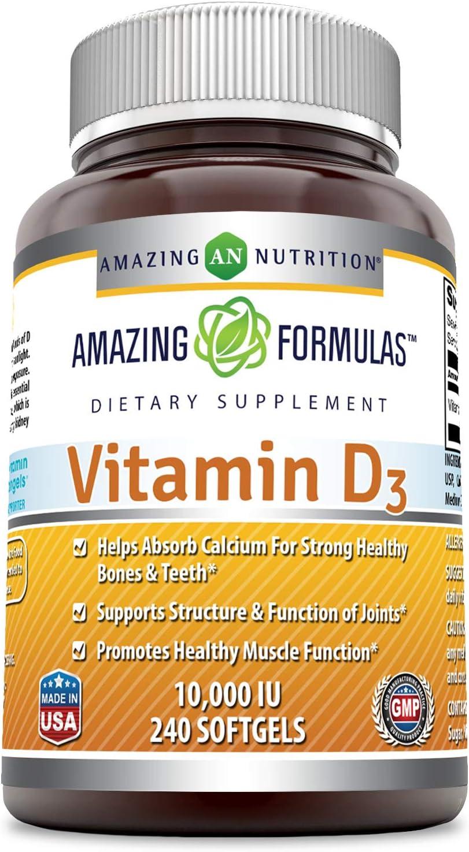New product type Amazing Formulas Vitamin D3 cholecalciferol - Iu Time sale 000 240 Sof 10