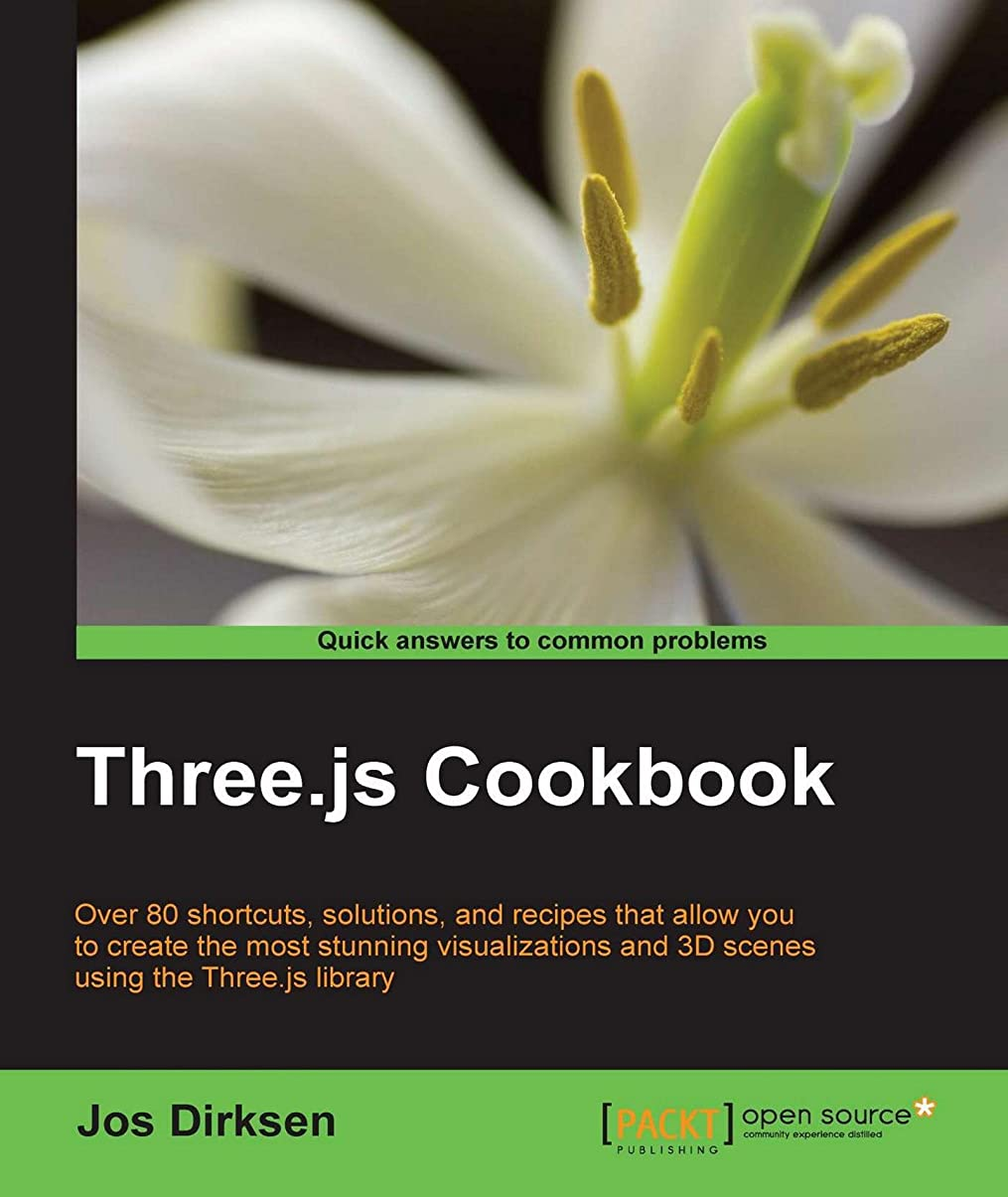 試験怪物面Three.js Cookbook (English Edition)