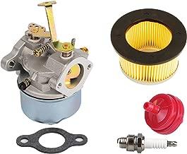 HIFROM Carburetor Air Filter for Tecumseh 632631 632230 632272 Troy bilt chipper vac 47279 47261 Tecumseh H30 H50 H60 Engines