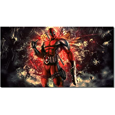Deadpool Movie Canvas Poster Art Prints Picture 8x11inches