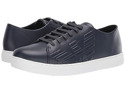 Emporio Armani Embossed Sneaker (Night) Men