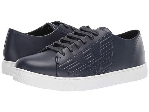 Emporio Armani Embossed Sneaker