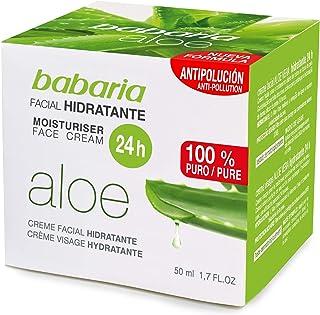 Babaria - Crema facial hidratante 50 ml