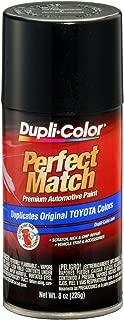 Dupli-Color BTY1622 Black Sand Pearl Toyota Exact-Match Automotive Paint - 8 oz. Aerosol