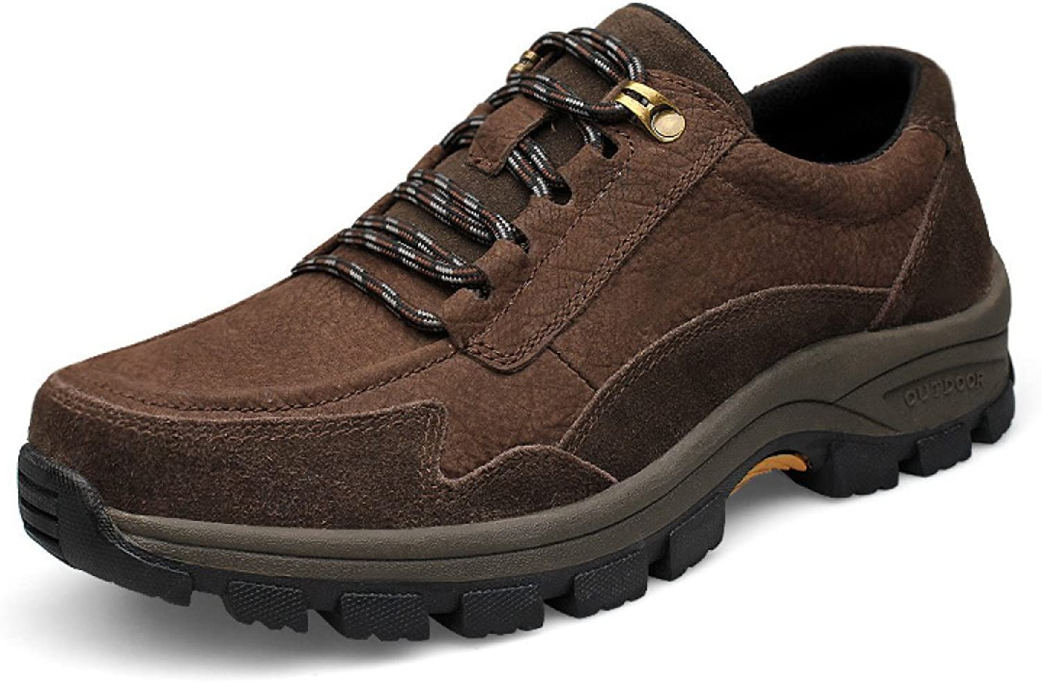 Autumn And Winter Men Outdoor Sports shoes Lace Men Hiking shoes Low To Help Outdoor shoes