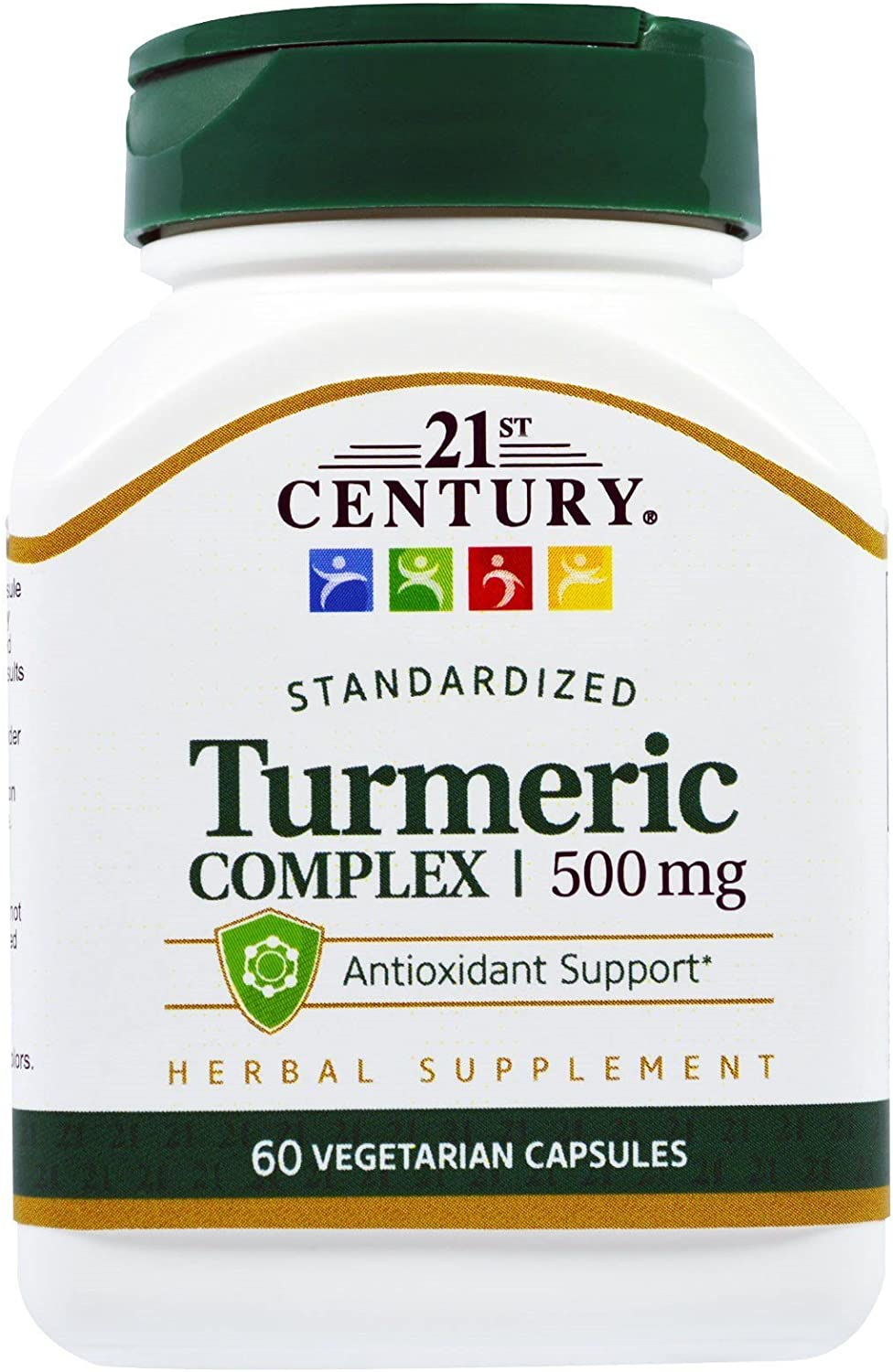 21st Century Turmeric Complex 500 Directly managed store mg 5 ☆ popular P 60 - Capsules Vegetarian