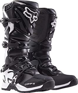Fox Racing 2018 Youth Comp 5 Boots (4) (Boys) Black