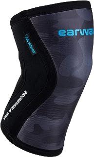 Earwaves ® Shield Knee Sleeve - Rodillera 5mm & 7mm de Neopreno para Crossfit, Weightlifting, Powerlifting, Lunges, Halter...