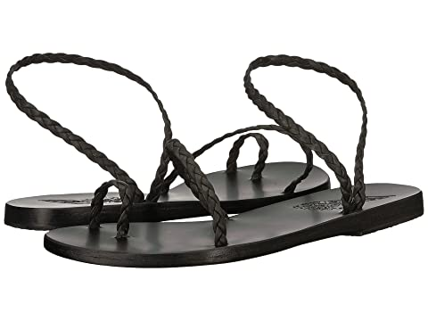 Nappa Natural NappaNatural Black NappaPlatinum Greek Ancient Black Sandals Eleftheria Platinum PRwZzq