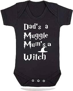 Cicatrice et Lunettes Harry Potter Inspiré Bébé Babygrow Body Bébé Cadeau