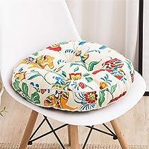 Almofadas decorativas de sofá para cadeiras, almofadas de piso confortáveis Almofada de assento de enchimento de algodão...