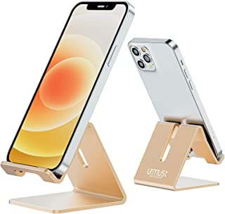 Desk Cell Phone Stand Holder Aluminum Phone Dock Cradle Compatible with Switch, All Android Smartphone, for iPhone 11 Pro ...