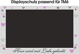 Displaybeschermfolie voor TM6 Fee Liefde roze grijs harten