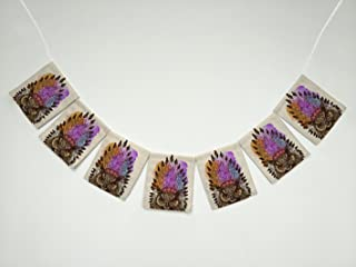 indian style bunting
