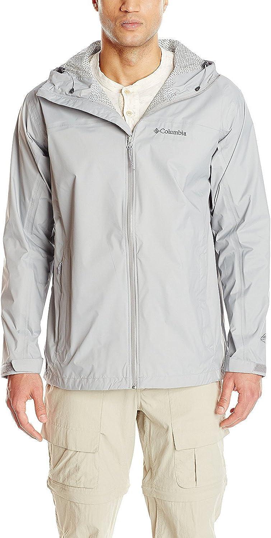 Columbia Sportswear Men's Big and Tall Evaporation Jacket, Tangy Orange, 1X