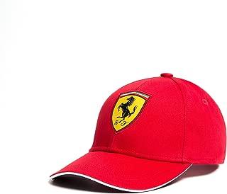 Scuderia Ferrari Red Classic Kids Adjustable 2018 Red Hat