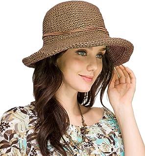 Urbancoco Damen klappbare Kappe flexible Sommer Strand Sonne Hüte