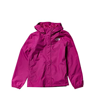 The North Face Kids Resolve Rain Jacket (Little Kids/Big Kids) (Wild Aster Purple) Girl