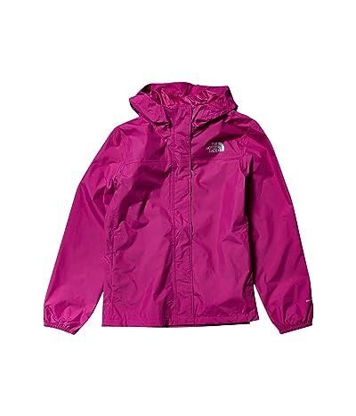 The North Face Kids Resolve Rain Jacket (Little Kids/Big Kids) (Wild Aster Purple) Girl