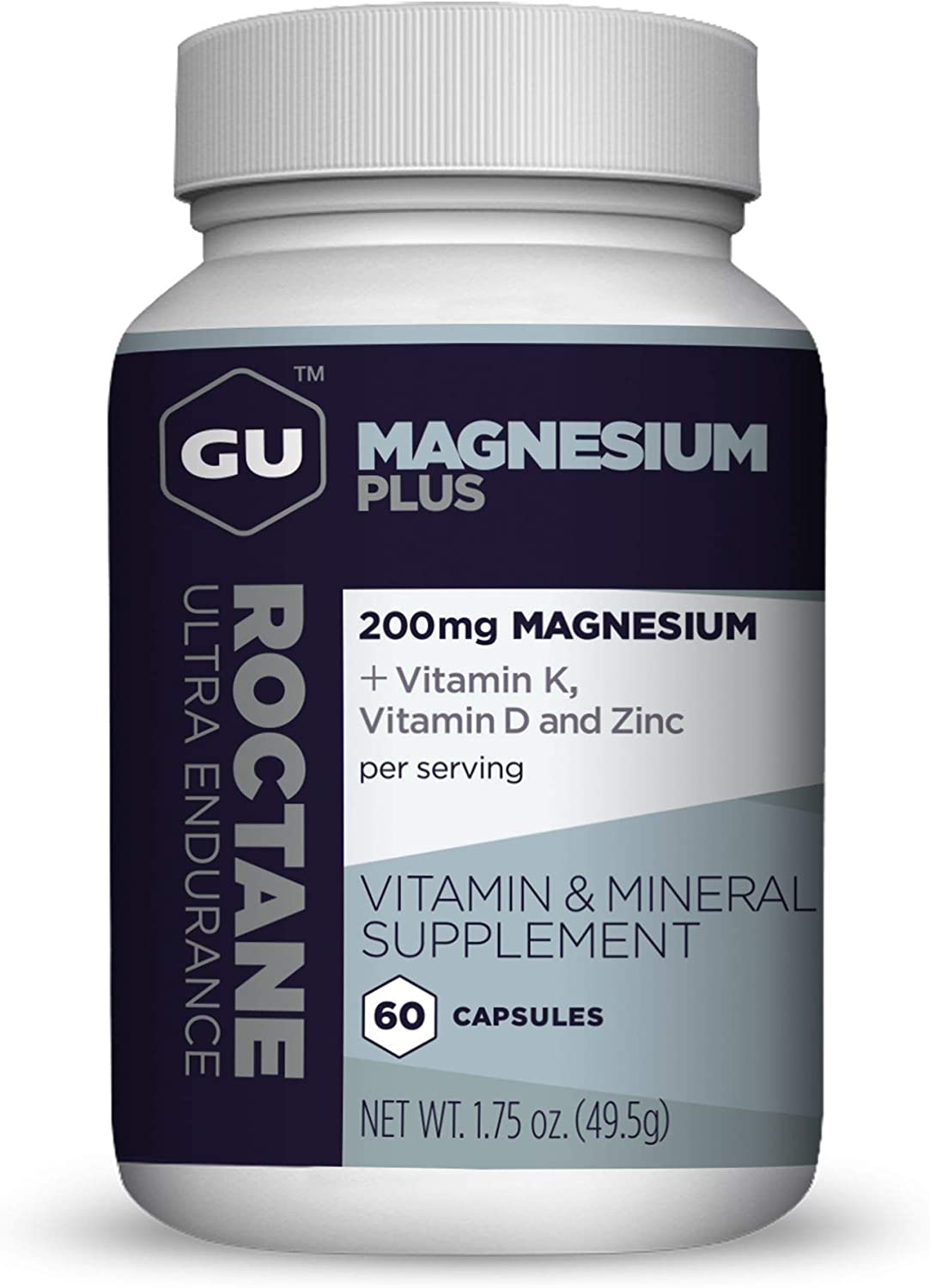 GU Energy Roctane Outlet ☆ Free Shipping Magnesium Plus Capsules D K Vitamin and Spasm price with