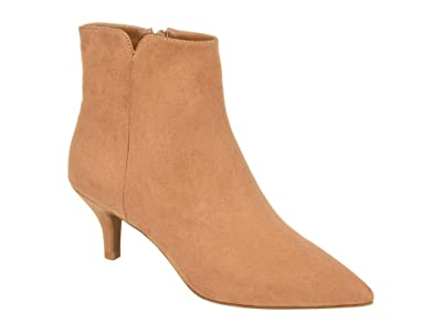 Journee Collection Comfort Foam Isobel Bootie (Tan) Women