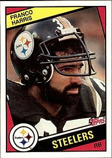 1984 Topps FB Pittsburgh Steelers Team Set 16 Cards Terry Bradshaw Franco Harris