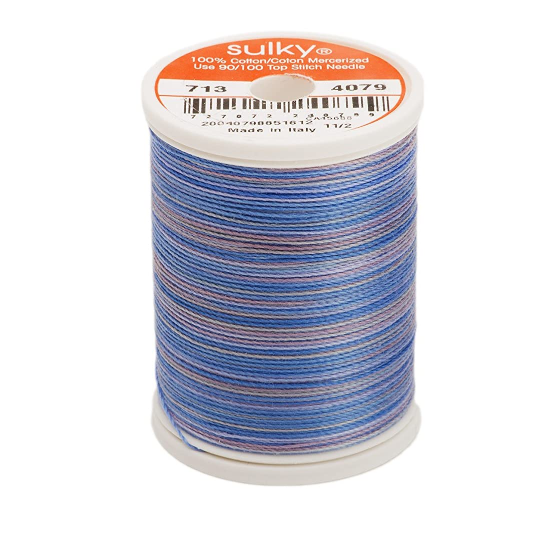 Sulky 713-4079 12-Weight Cotton Blendable Thread, 330-Yard, Hyacinth