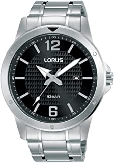 Lorus Sport Man Mens Analog Quartz Watch with Stainless Steel Bracelet RH989LX9