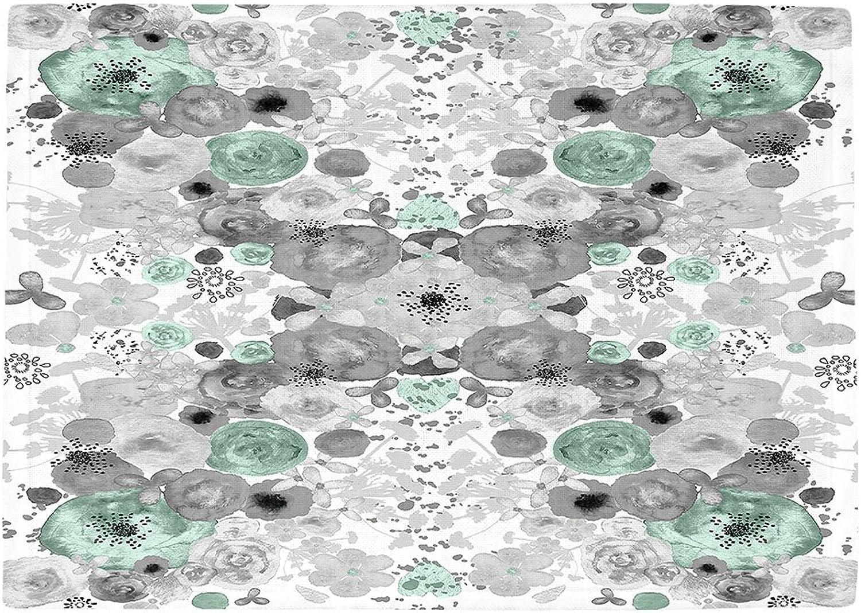 últimos estilos DiaNoche DiaNoche DiaNoche - Manteles Individuales de Cocina por el Artista Julie Ansbro – Romántico Flores Menta  el estilo clásico