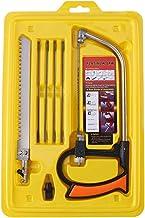 Sierra multifunción, hoja de sierra de arco, sierra manual multifunción para el hogar Juego de sierra para carpintería para cortar madera/aluminio/vidrio 12.59 * 8.26
