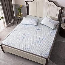 Summer Sleeping mat Sheets Tencel Modal Washed Latex mat Three-Piece Thick Foldable high-Quality Natural Latex mat Set air...