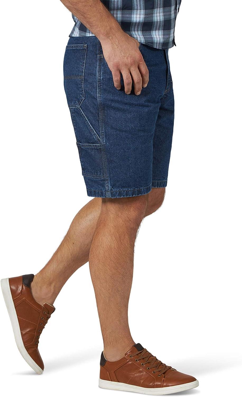 Wrangler Mens Denim Carpenter Shorts