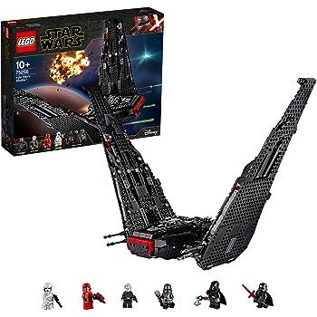 LEGO StarWars ShuttlediKyloRen, Set di Costruzioni della Nave Stellare con 2 Shooter a Molla, Collezione: L'Ascesa di Skywalker, 75256