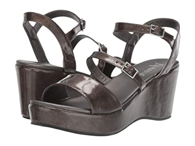 Amiana 15-A5520 (Little Kid/Big Kid/Adult) (Pewter Metal Patent) Girl