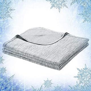 Elegear fajny koc letni, 2 w 1 projekt narzuta na łóżko narzuta zapewnia chłód przez całą noc, antyalergiczny i oddychając...