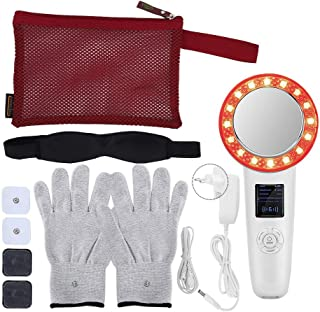 6 in 1 EMS Body Slimming Massager Ultrasoon 6 LED Anti Rimpel Body Sliming Massager voor Arm Been Maag Anti Cellulite Mass...