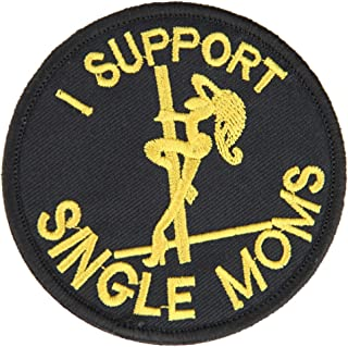 OneTigris Tactical Patch Morale Military Patch  I Support Single Moms