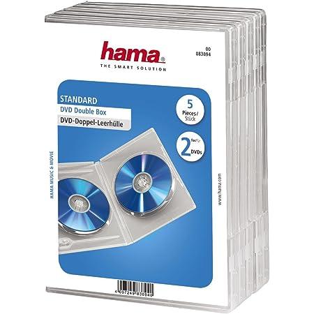 Hama Dvd Doppelhülle 5er Pack Transparent Computer Zubehör