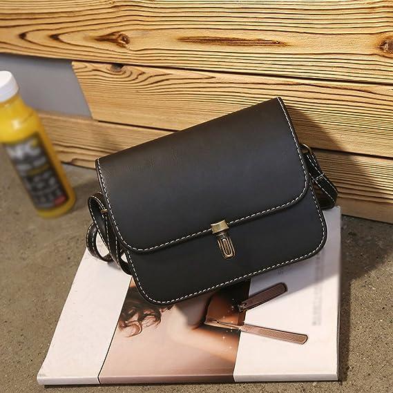 Damentaschen Messenger Lehrertasche Umhängetasche Crossbody Leder-Tasche DJ38