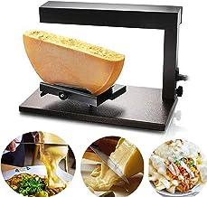Machine à fromage électrique commerciale de fondeur de fromage à raclette pour la moitié de roue de fromage de Nacho mult...