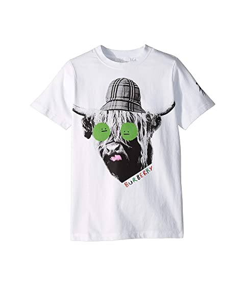 Burberry Kids Highland Cow T-Shirt (Little Kids/Big Kids)