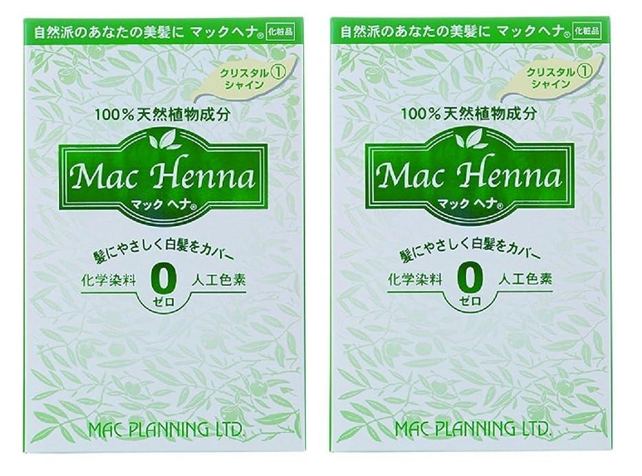 反動爆弾ゲストマックヘナ クリスタルシャイン 120g(60g×2) 2箱セット