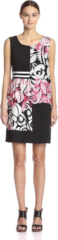 Beatrice B. Women's Sleeveless Printed Dress